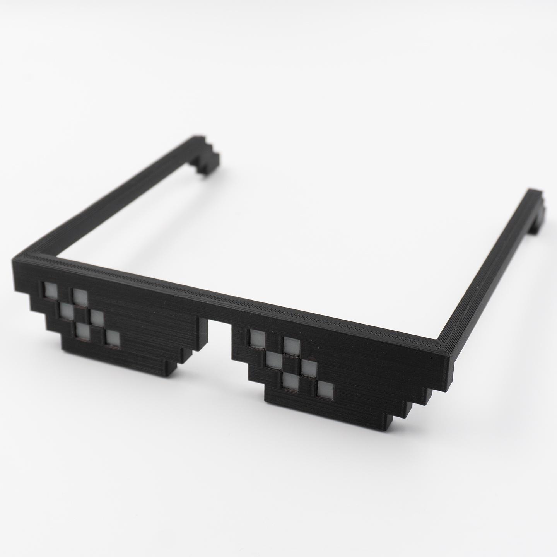 3D Druck - Deal With It Sonnenbrille