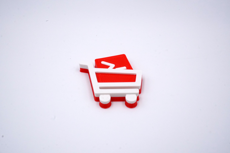 3D Badge - Kommerzhure