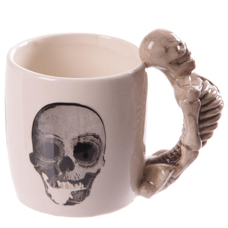 Tasse - Skelett