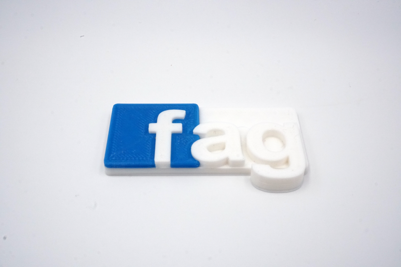 3D Badge - Fag