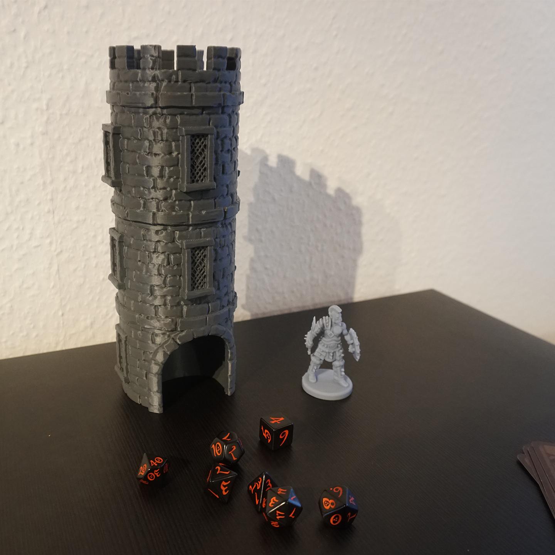 3D Druck - Würfelturm Klassisch