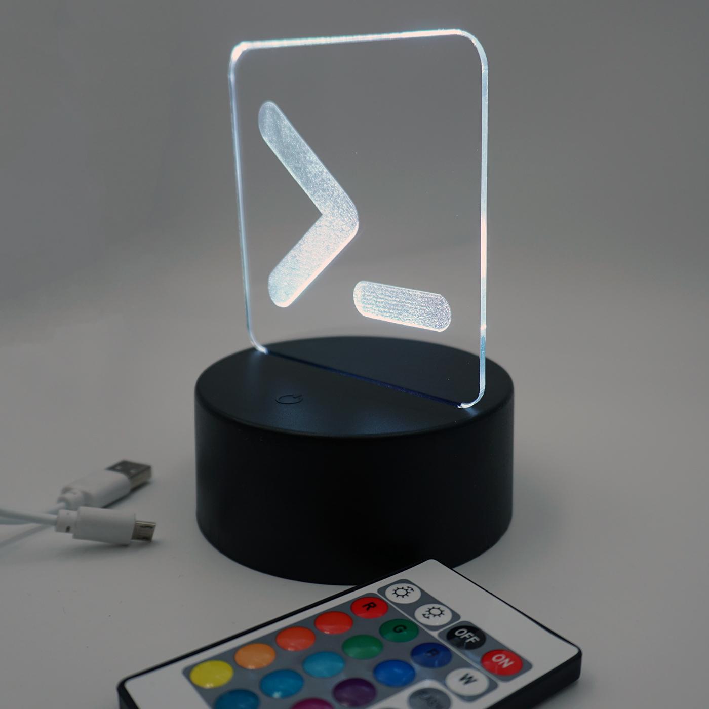 LED Aufsteller - pr0gramm Logo