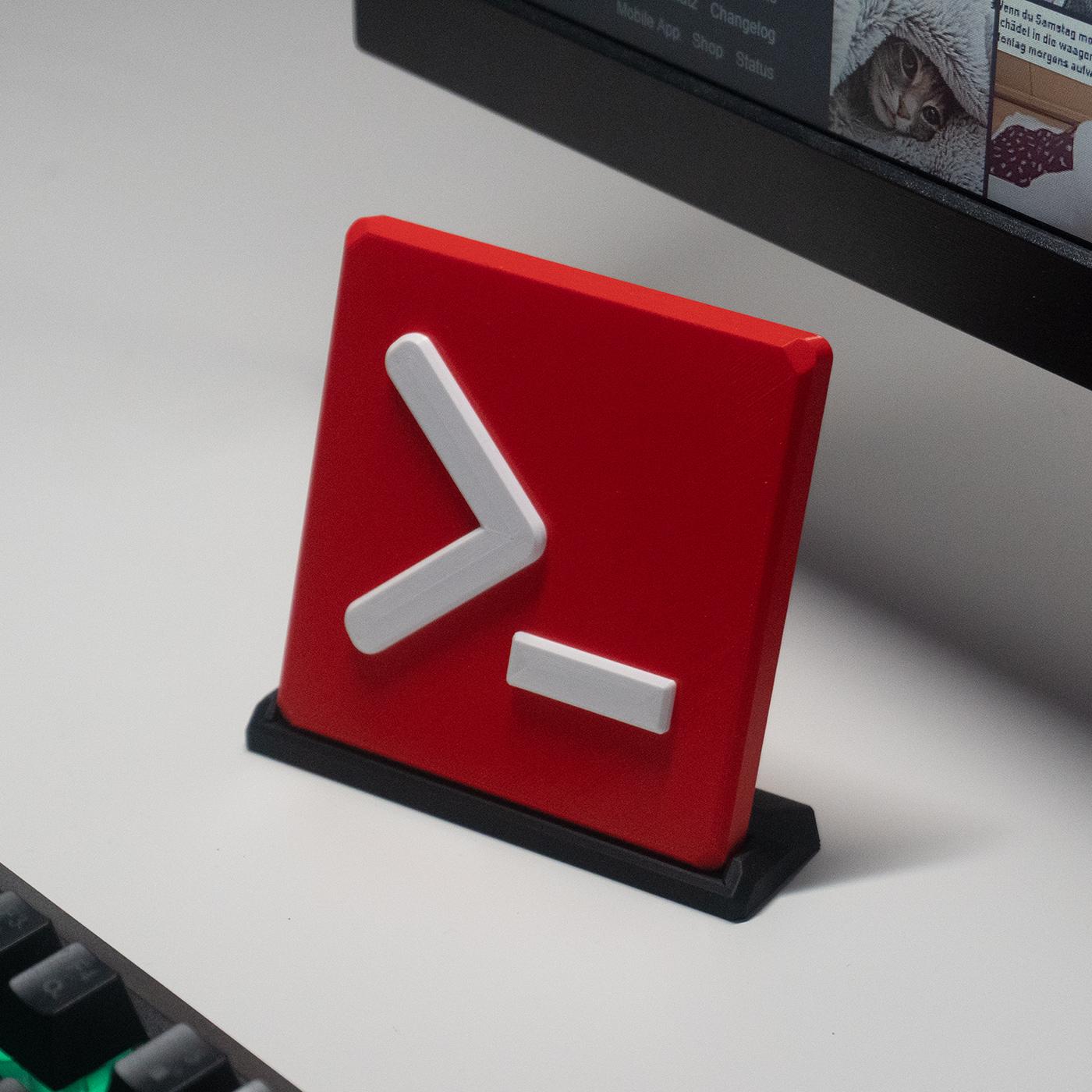 3D Druck - pr0 Logo Aufsteller
