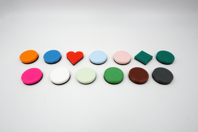 3D Druck - Badges Sparset Nutzerpunkte