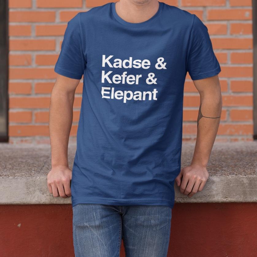 T-Shirt Kadse & Kefer & Elepant