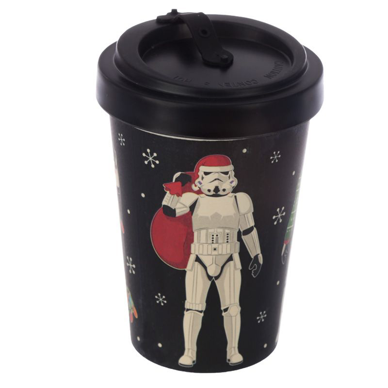 To Go Becher - Weihnachts Stormtrooper - Geschenkesack