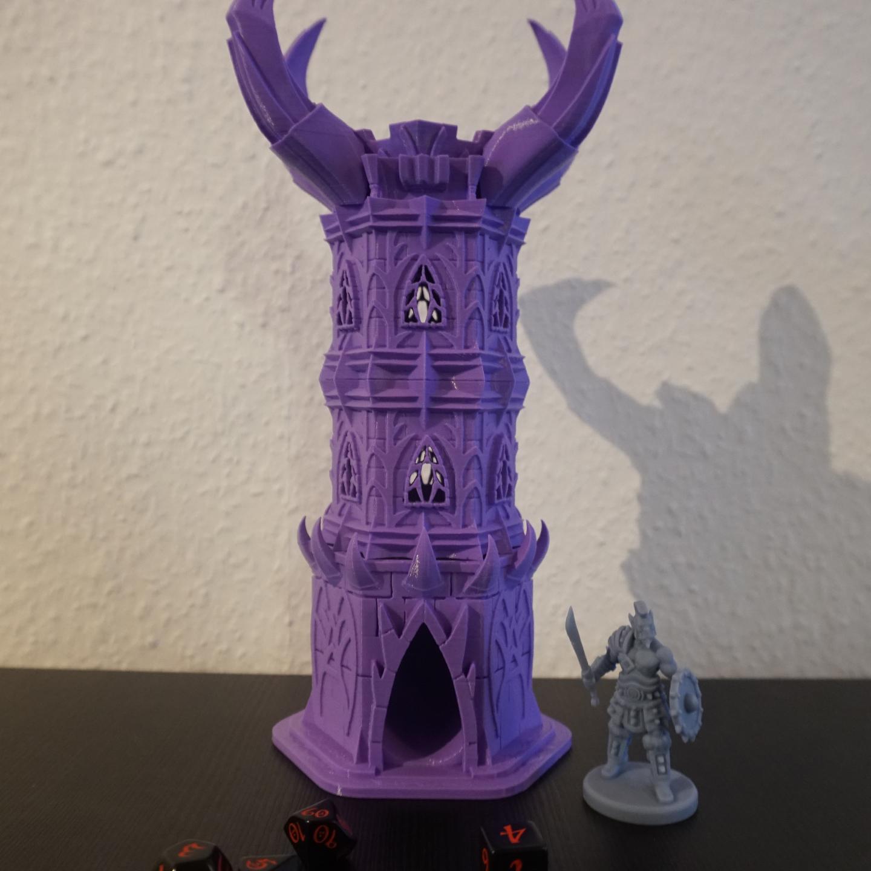 3D Druck - Würfelturm Chaos