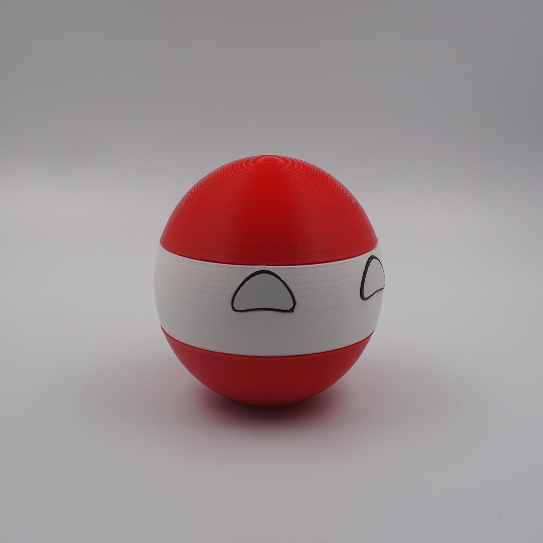 3D Druck - Österreichball