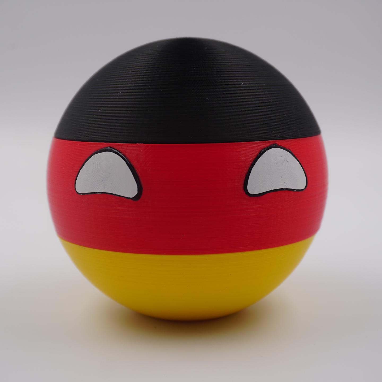 3D Druck - Deutschlandball